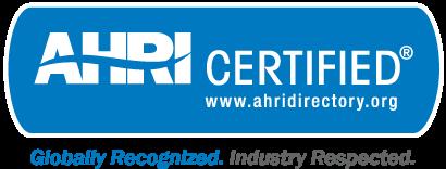 AHRI Certified logo