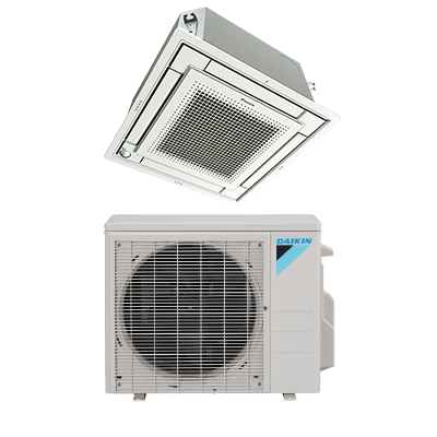 Ductless Heat Pump Ceiling Mount